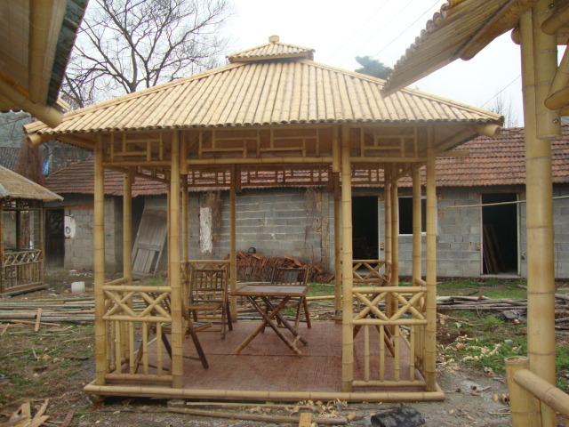Bamboo Gazebo Manufacturer Supplier India Wood